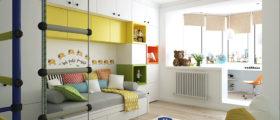 Дизайн-проект детской комнаты